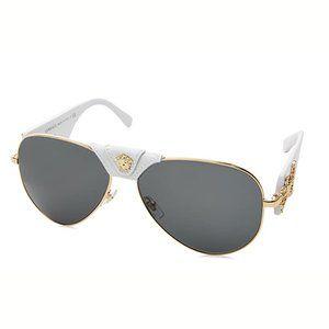 Accessories - NWT Authentic Versace Gold Pilot Aviators
